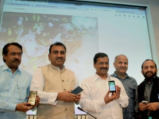Delhi Government Launches Swachh Delhi App