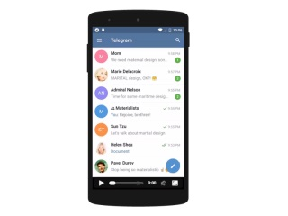 Telegram for Android Gets Instant Video Streaming, Auto-Night Mode, and More