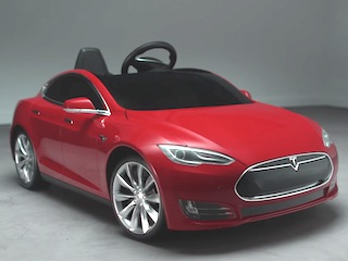 Here's a Tesla Car You Can Actually Afford and Give to Your Kids