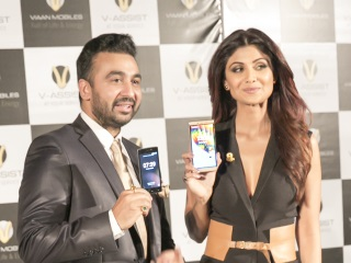 Viaan Mobiles With V-Assist Service Launched by Shilpa Shetty, Raj Kundra