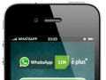 WhatsApp offering unlimited free access prepaid SIM in Germany