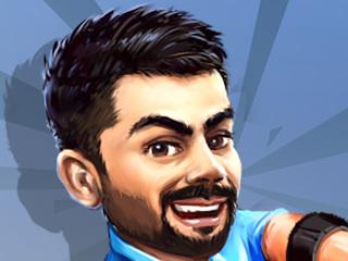 'Indianising' Stick Cricket, With Virat Kohli and Rohit Sharma