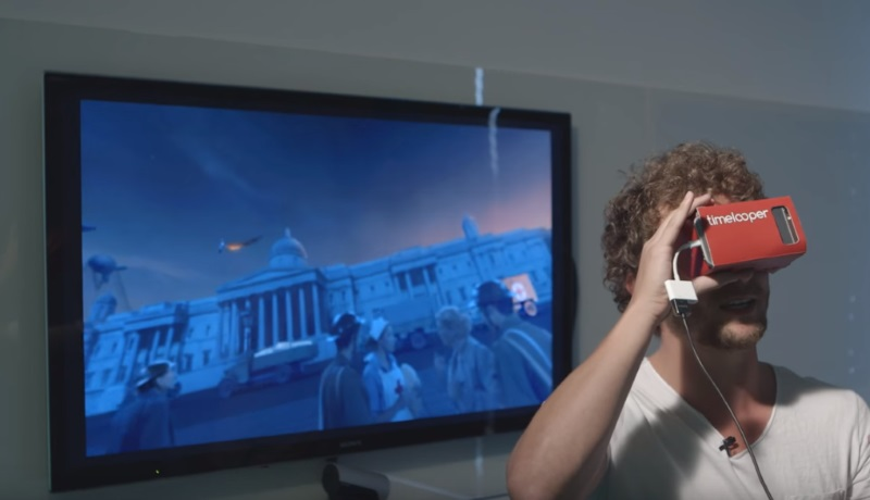 New Virtual Reality App Timelooper Takes You Back in History