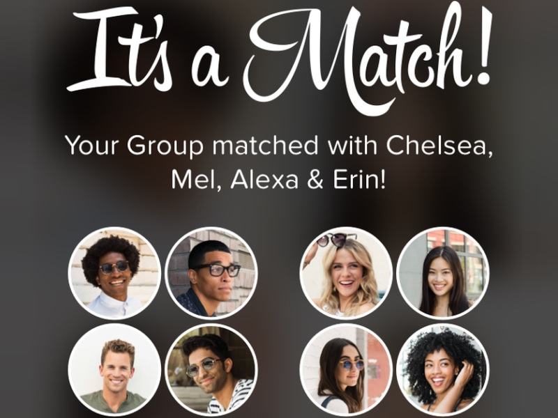 tinder social match