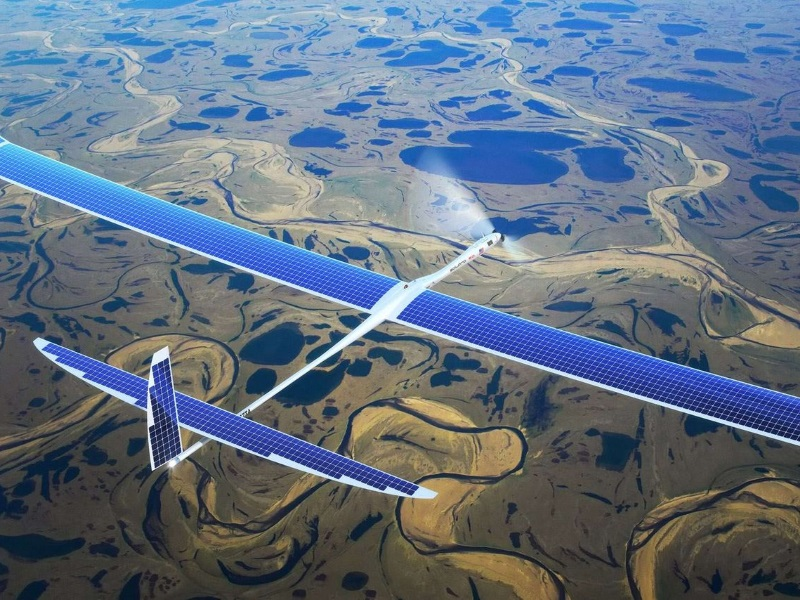 Wing Failure Blamed for Crash of Google's Solar-Powered Drone