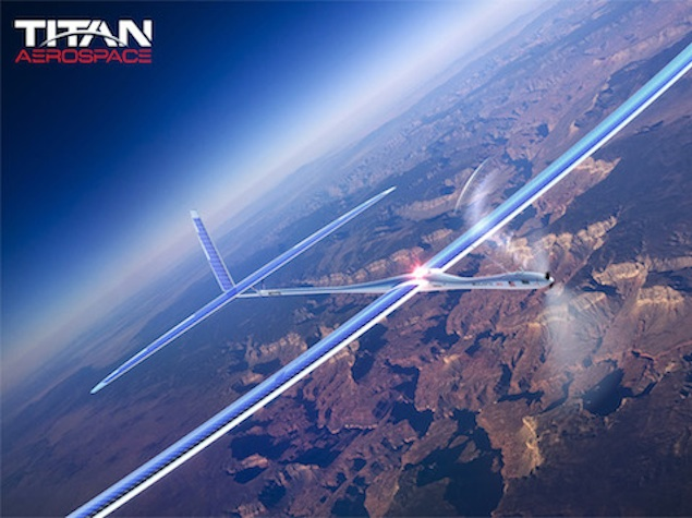 Facebook looking to buy Titan Aerospace for Internet-providing drones: Report