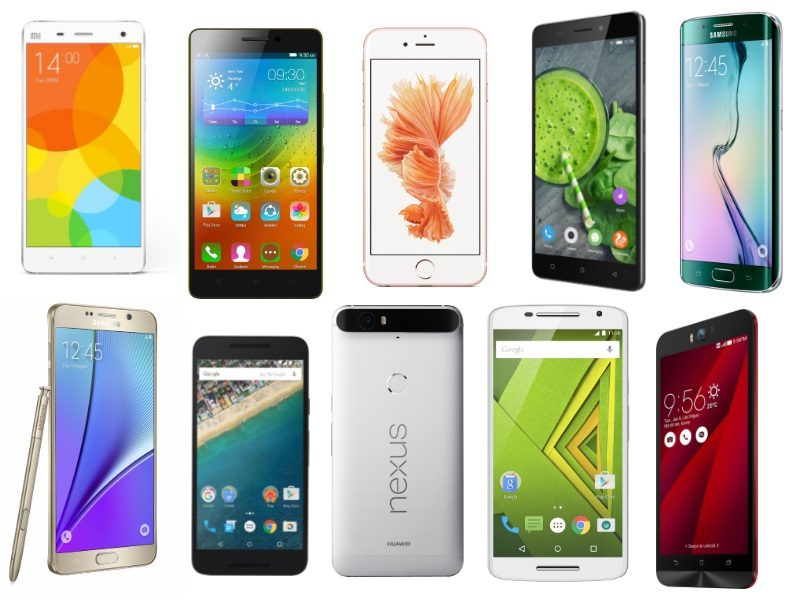 10 Smartphones We Loved in 2015