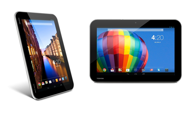 Toshiba launches three 10.1-inch Android tablets