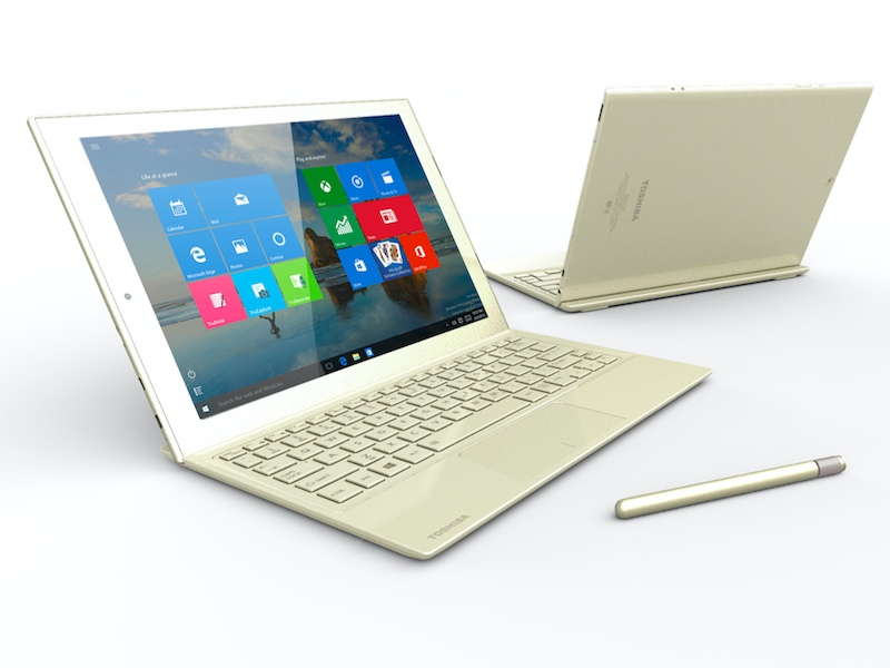 Toshiba DynaPad Tablet With 12-Inch Display, Windows 10 Launched at CES 2016