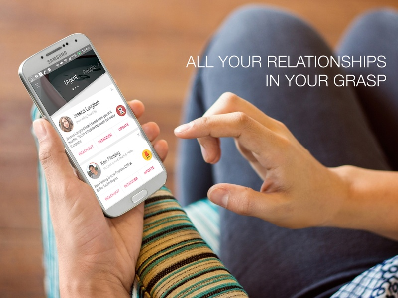 Touch'd Is a Relationship Manager for the Forgetful