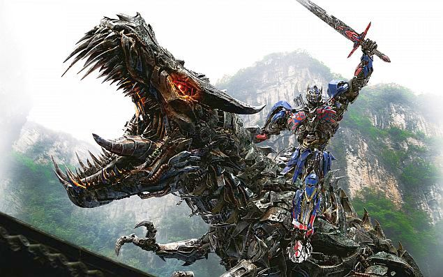 Transformers: Age of Extinction Brings Giant Robot Dinosaurs and Even Bigger Explosions