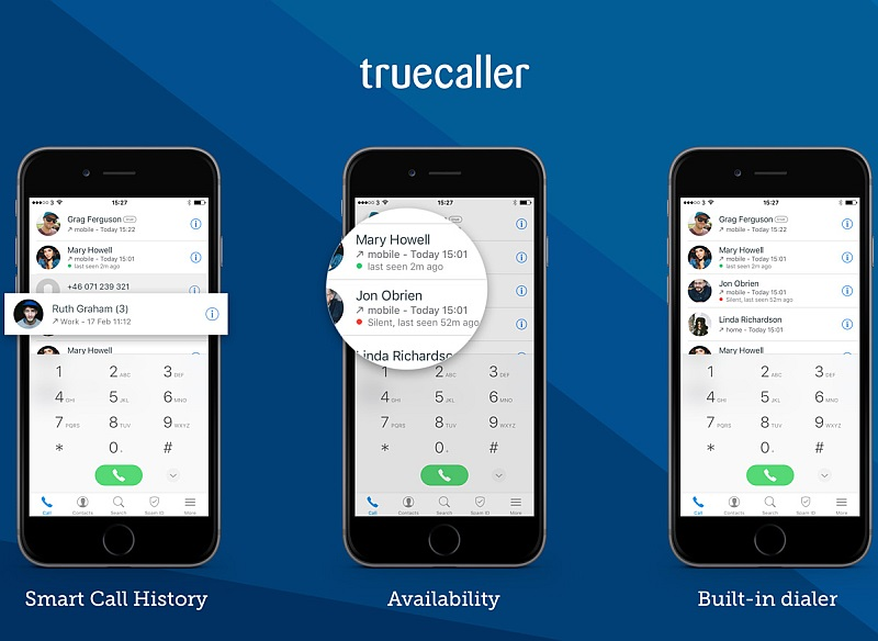 Truecaller for iPhone Gets Smart Call History, Built-in Dialler