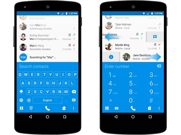 Truedialer 2.0 Update Brings Support for Dual-SIM Android Devices