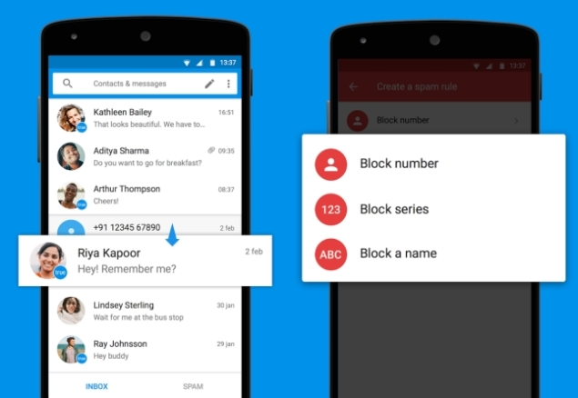 Truecaller Launches SMS App Truemessenger for Android