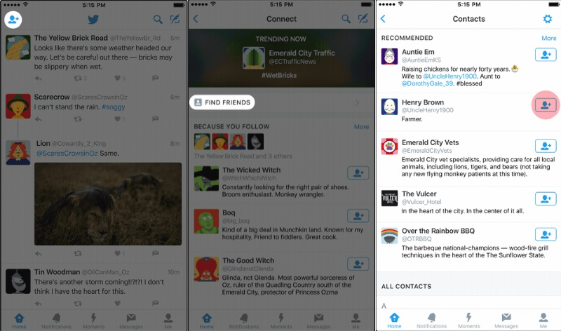 Twitter Makes Following Accounts Easier With New Connect Tab