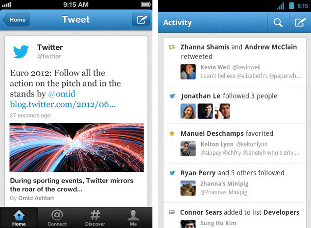 News Twitter: Twitter For IOS, Android Adds Expanded Tweets