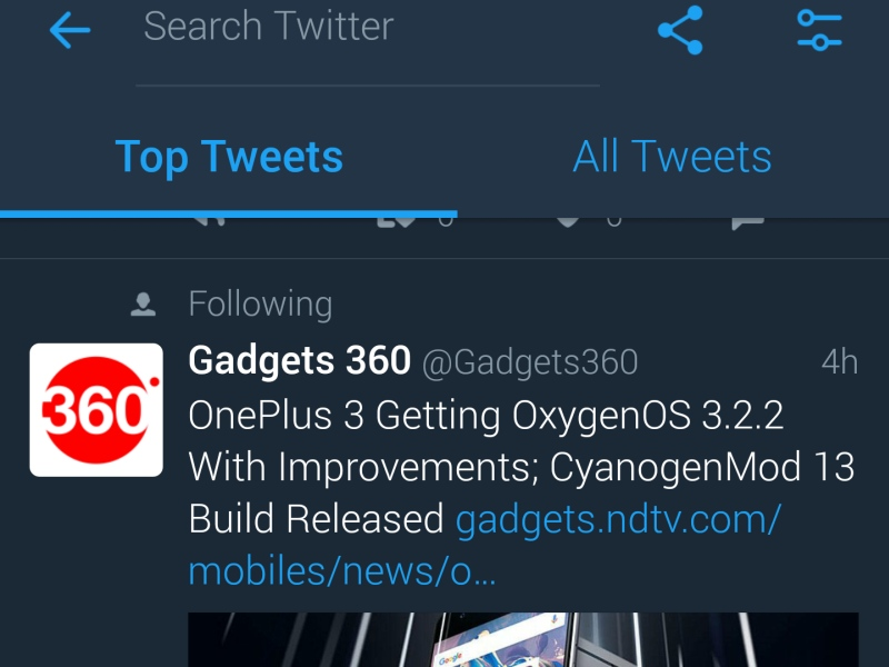 Twitter for Android Finally Gets a Night Mode