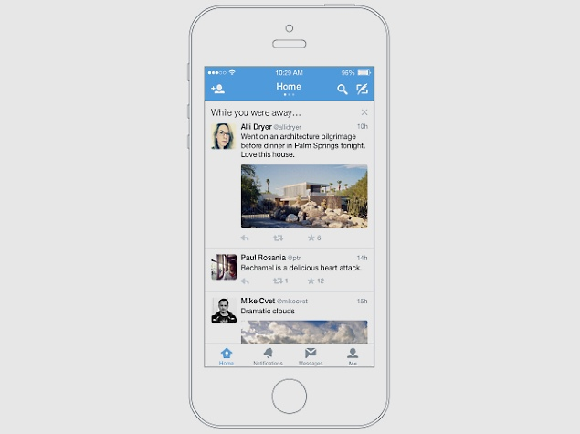 Twitter Launches 'While You Were Away' Recap Feature