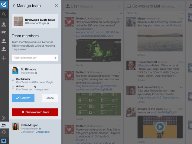 Twitter Finally Improves Account Sharing With TweetDeck Teams
