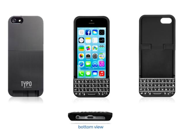 Ryan Seacrest-backed iPhone keyboard 'Typo' showcased at CES 2014, ships Monday