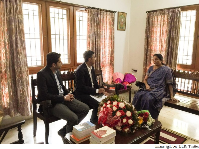 Uber Official Meets Sitharaman in Bengaluru to Discuss Issues