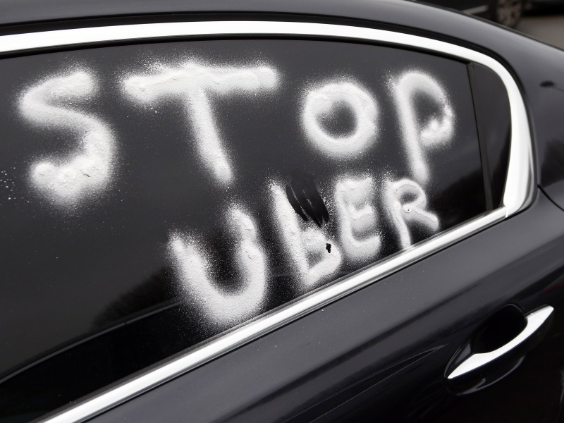 Uber Faces Potential Big Fine and Ban for Bosses in France