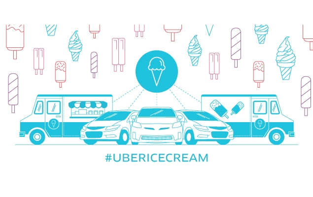 Uber Delivering Ice Cream on July 18 in 38 Countries Including India