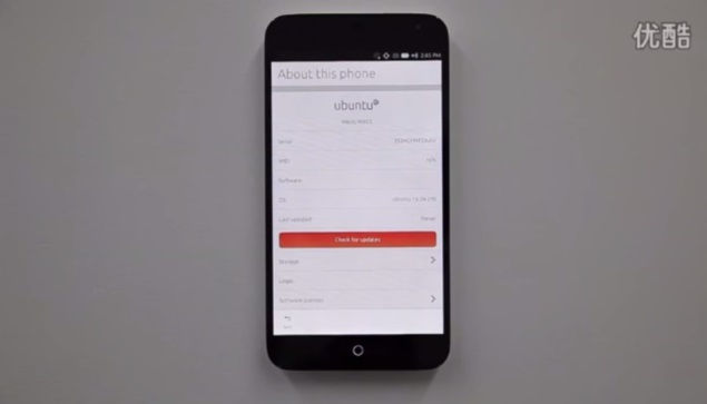Ubuntu Touch OS features detailed in purported walkthrough video