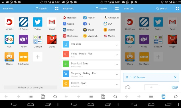 UC Browser 9.9.2 for Android Up for Download; Adds Built ...