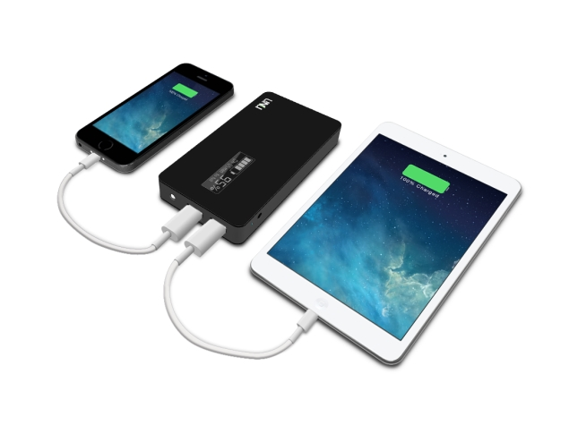 This Battery Pack Gains Full Charge for Most Smartphones in 15 Minutes