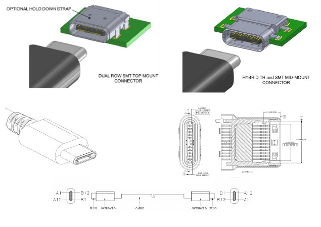 Tiny, Reversible Type-C USB Connector to Debut by 2015