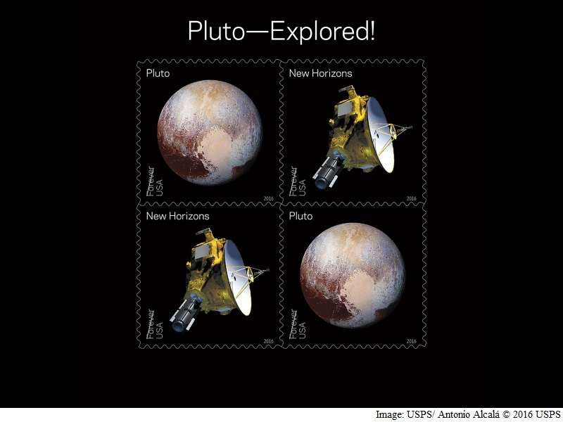 US Honours Pluto's Historic Flyby With Postal Stamps