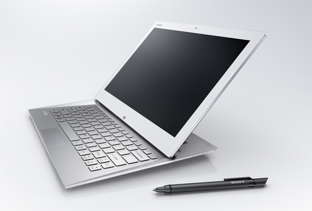 Sony unveils VAIO Duo 13 tablet-laptop hybrid, touch-enabled ...