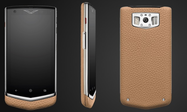 Vertu launches Constellation at 4,900 Euros, its second Android smartphone