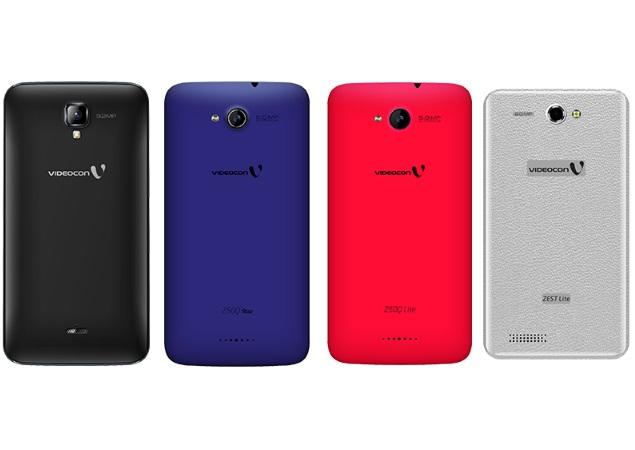 competitive price cf535 0e6da Videocon Lists Four New Infinium Series Android Smartphones ...
