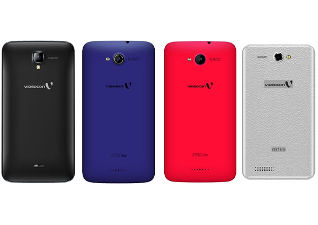 Videocon Lists Four New Infinium Series Android Smartphones