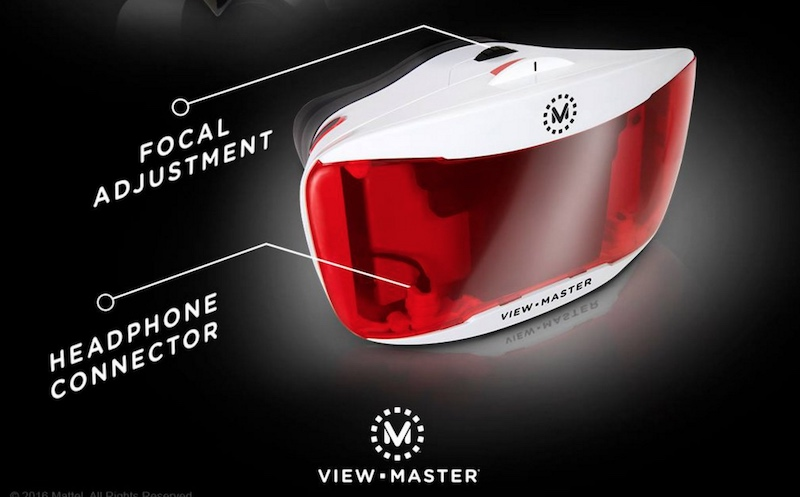 Mattel to Launch View-Master VR Headset Successor Later This Year