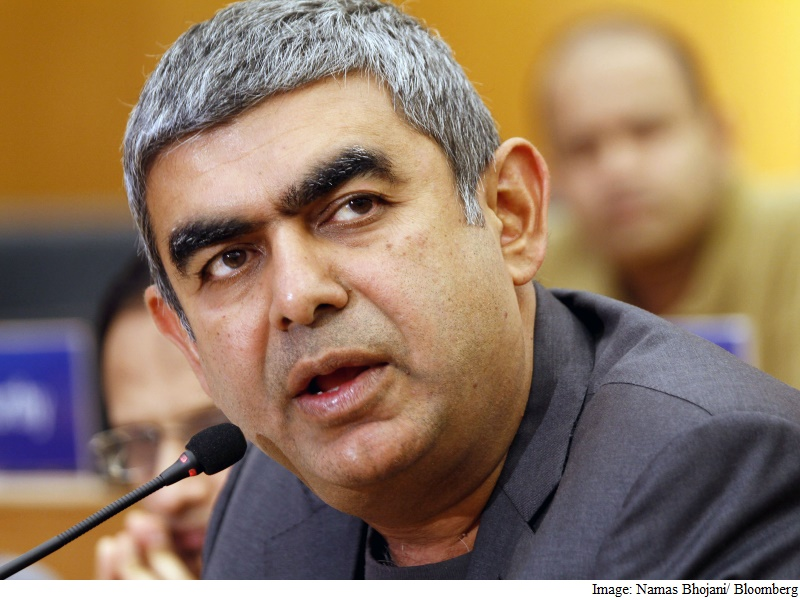 Infosys CEO Sikka Has First Big Setback as Global IT Stalls