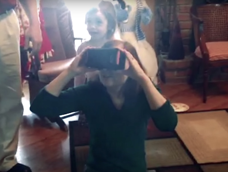 Google Cardboard Helps a Visually Challenged Person See Again After 8 Years