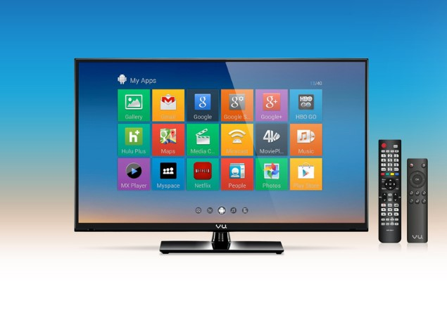 vu launches 32 inch android 4 4 2 kitkat based led tv at rs 24 990 technology news. Black Bedroom Furniture Sets. Home Design Ideas