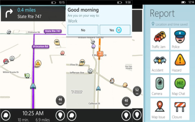 Waze: Social Navigation App Now Also for Windows Phone