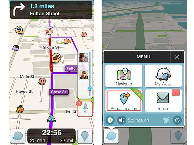 Google's Updated Waze App for Android and iOS Now Available for