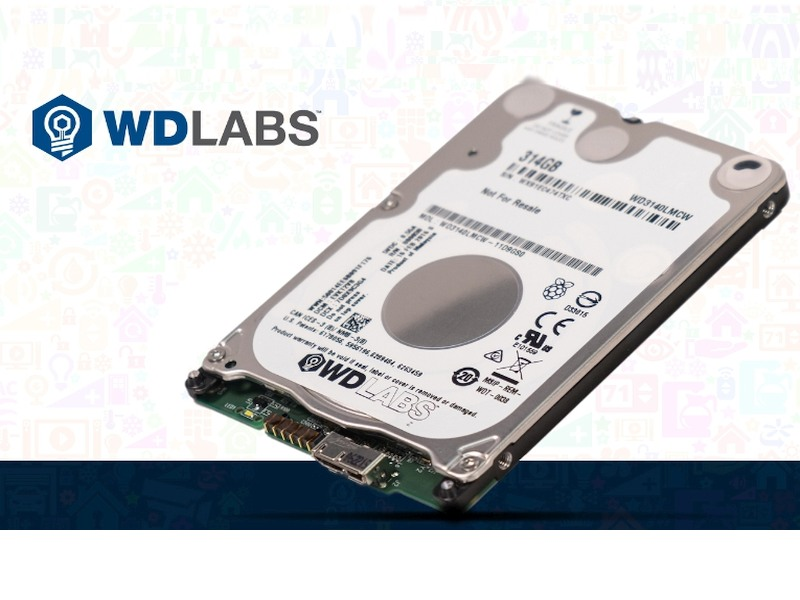 WD PiDrive Is a 314GB Hard Drive Designed for Your Raspberry Pi
