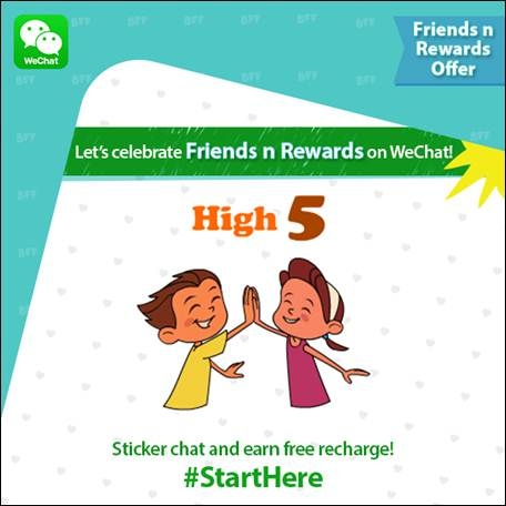 WeChat Offers Users Free Recharge up to Rs  60 for Sharing