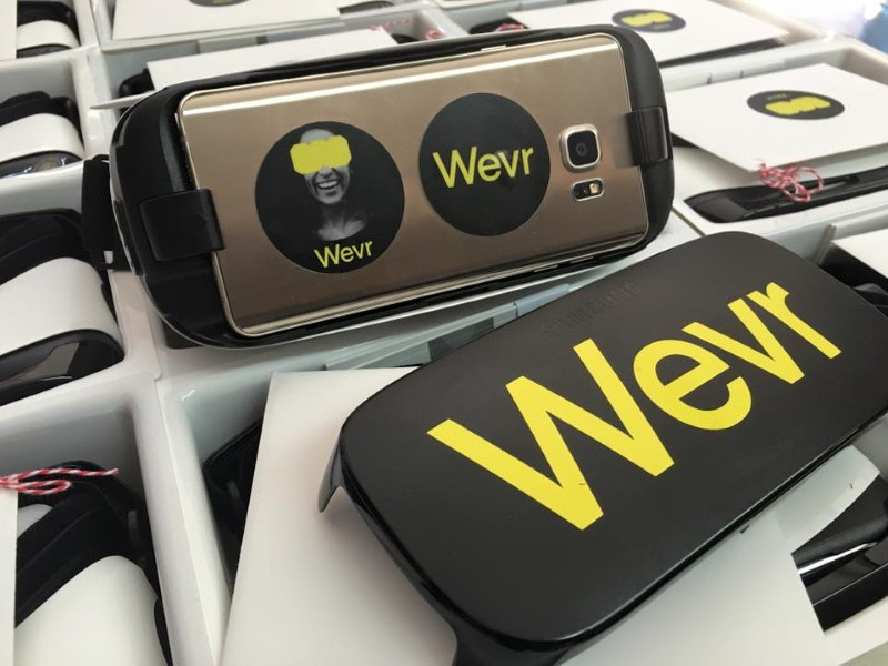 VR Firm Wevr Raises $25 Million From Samsung, HTC, and Others