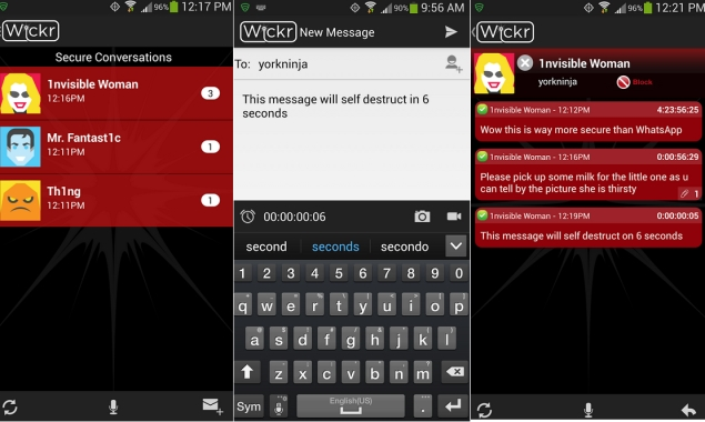 Wickr secure messaging app comes to Android