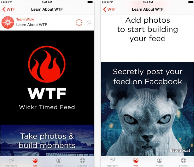 Wickr Messaging App Hides Pictures in Plain Sight on Facebook