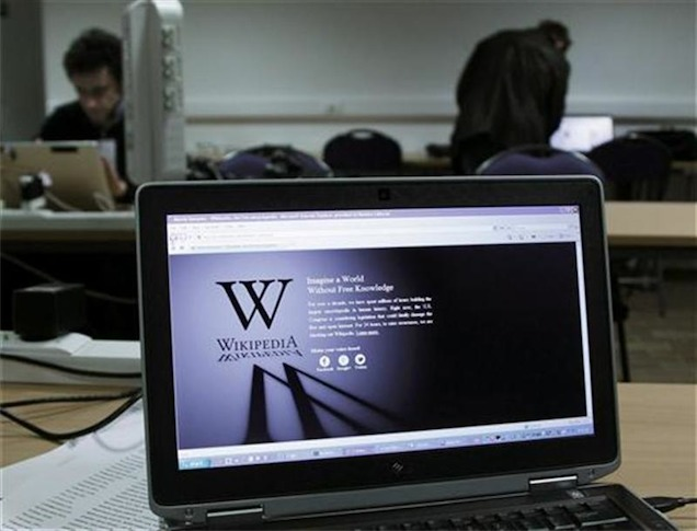 Wikipedia not afraid to go dark to protect Internet