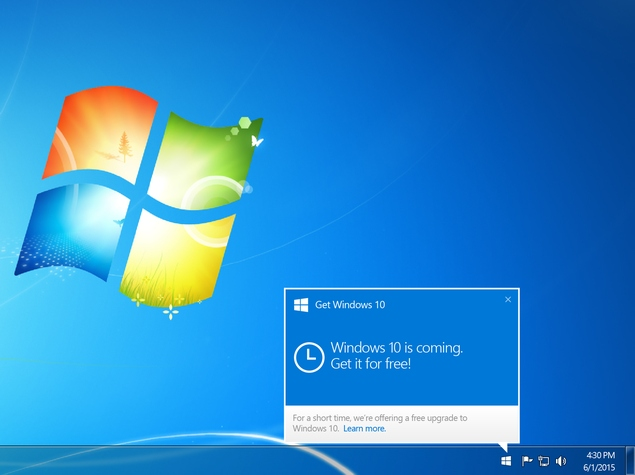 How to Reserve Your Free Windows 10 Upgrade