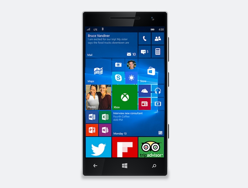 Windows 10 Mobile Now Available For Phone 8 1 Devices Microsoft Technology News